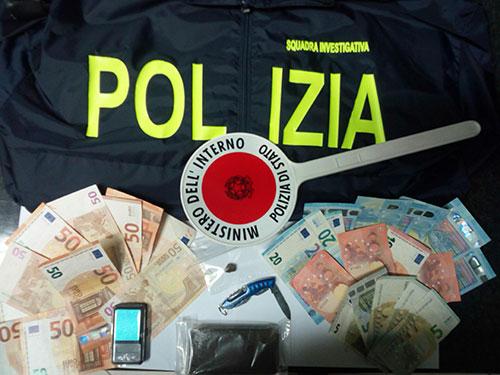 Droga, arrestato per spaccio a Battipaglia un giovane incensurato