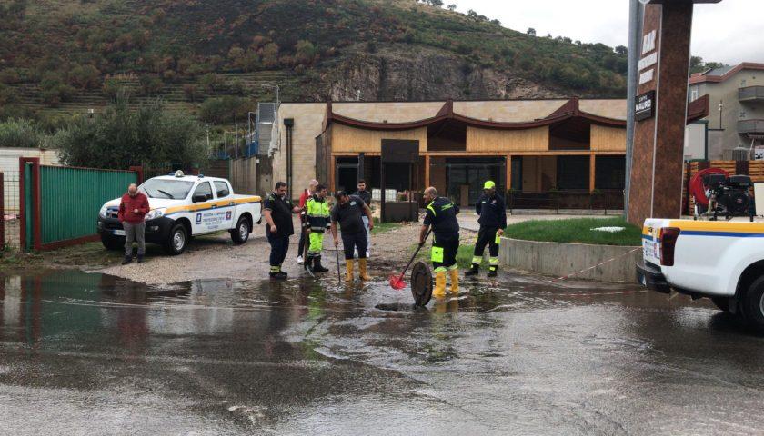 Maltempo e rischio idrogeologico, sopralluoghi a Nocera Inferiore