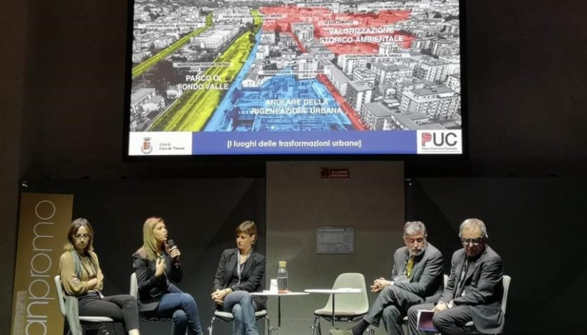Il Piano Urbanistico Comunale di Cava de' Tirreni presentato all'Urbanpromo di Torino