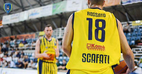 Givova Scafati in cerca del riscatto contro l'Orlandina Basket