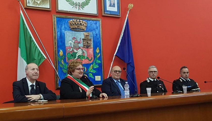 Il Prefetto di Salerno Russo in visita a Castel San Giorgio