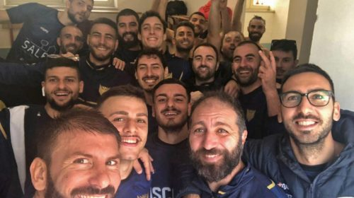 Polisportiva Saledil Guiscards, il team calcio concede il bis battendo largamente l'Arechi Calcio