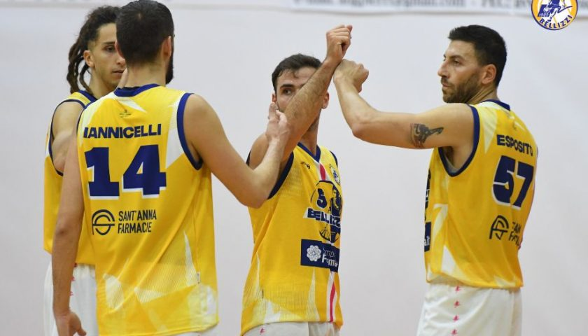 Il Basket Bellizzi espugna il campo di Isernia: Prima vittoria esterna per i gialloblu
