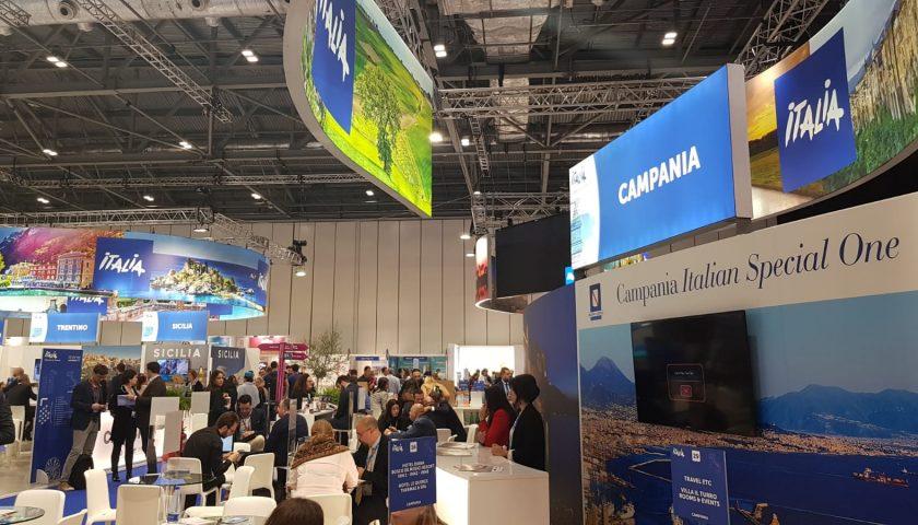 """Turismo: """"Destinazione Salerno"""" con la Regione Campania al World Travel Market di Londra"""