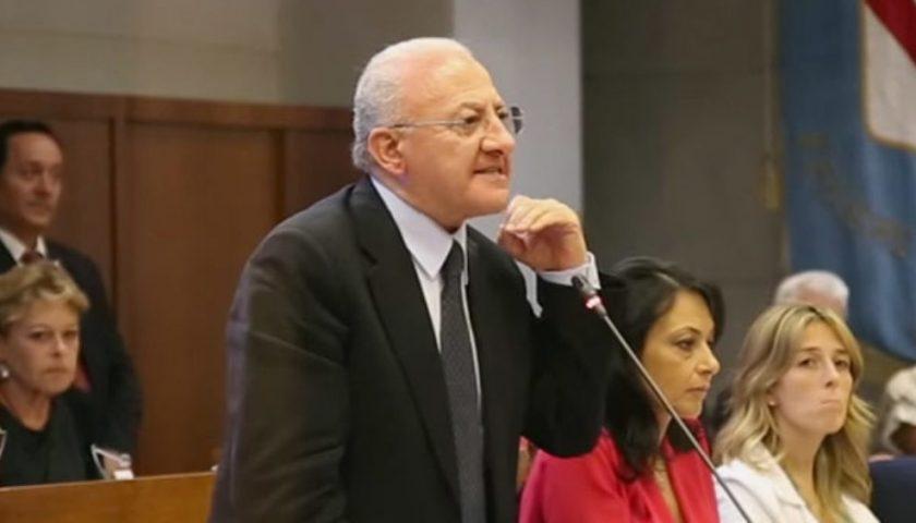 Vincenzo De Luca al nono posto tra i Governatori più efficaci d'Italia