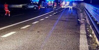 Tragico schianto sulla Caserta/Salerno: muore una donna, un ferito è in fin di vita
