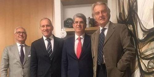 Il sindaco di Cava de' Tirreni Servalli incontra Montezemolo a Roma sul futuro delle manifatture dei tabacchi