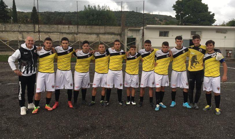 Terza vittoria consecutiva per l'under 17 regionale della Battipagliese