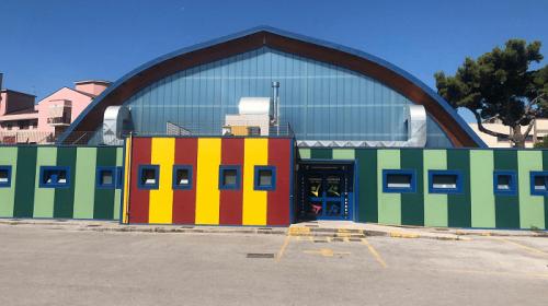 Il Palazzetto dello sport di Pontecagnano ospita il Campus residenziale di basket in carrozzina