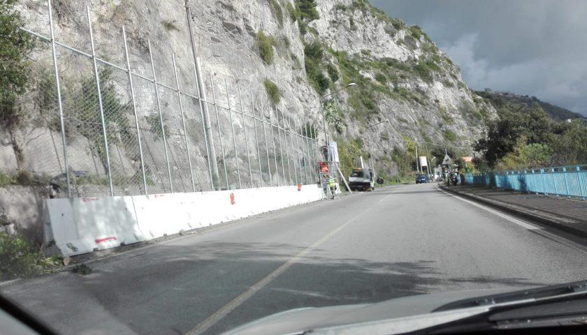 Statale 18: ripristinato il doppio senso di circolazione, tra Vietri sul Mare e Salerno ora traffico regolare