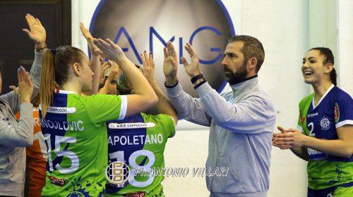 Sconfitta esterna per la Jomi Salerno nell'ultimo turno del girone d'andata