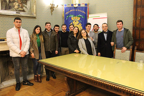 """Salerno: a Palazzo Sant'Agostino il bando regionale """"Giovani in Comune"""""""