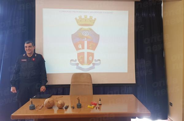 """Attività dei Carabinieri contro i botti illegali, """"Quota cento"""" il nuovo prodotto devastante"""