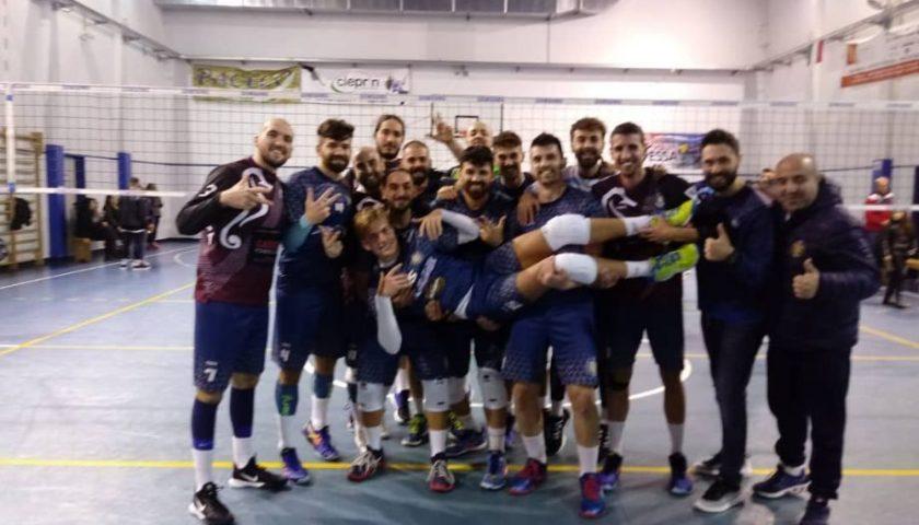 Settima vittoria consecutiva per l'Indomita Salerno