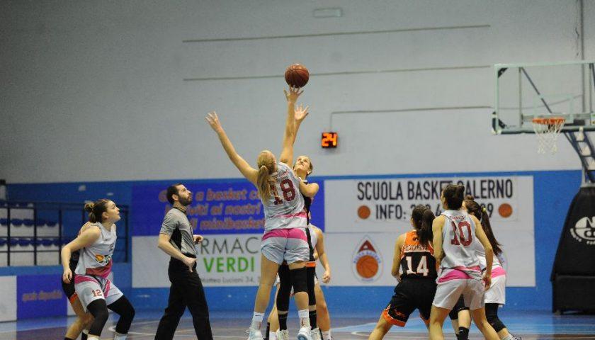 Harakiri Todis Salerno Basket, la Givova Scafati passa al fotofinish a Matierno