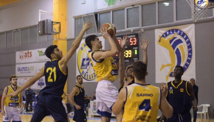 Il Basket Bellizzi chiude il 2019 sul campo di Maddaloni