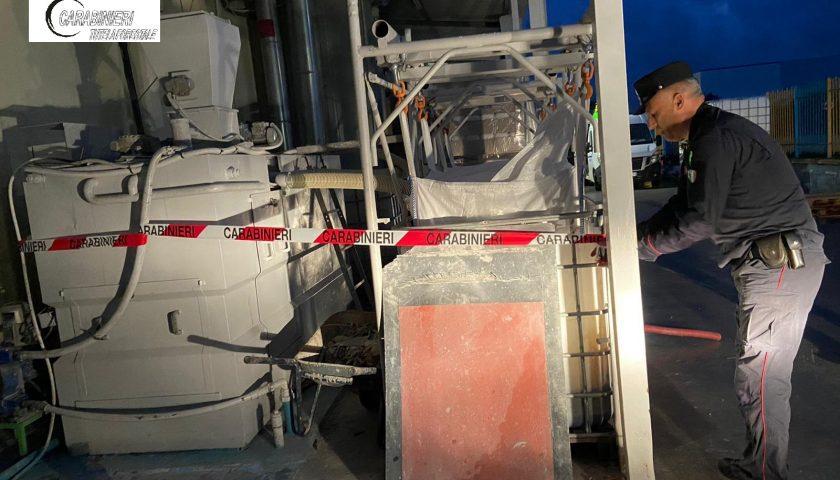 Polla: scarico di reflui industriali, sequestrato impianto di un colorificio