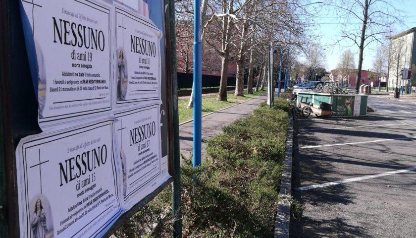 Manifesti annunciano la sua morte, choc a Sarno: 40enne presenta denuncia ai carabinieri