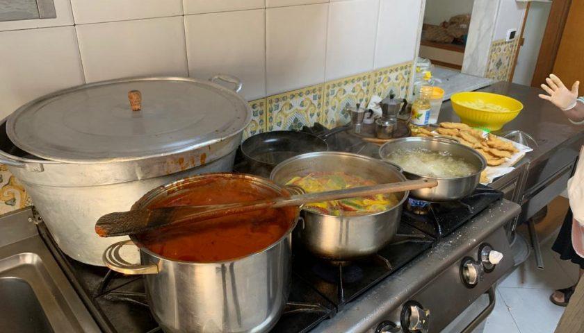 """Cacciatori e solidarietà, pranzo alla mensa dei poveri """"Casa Nazareth"""""""