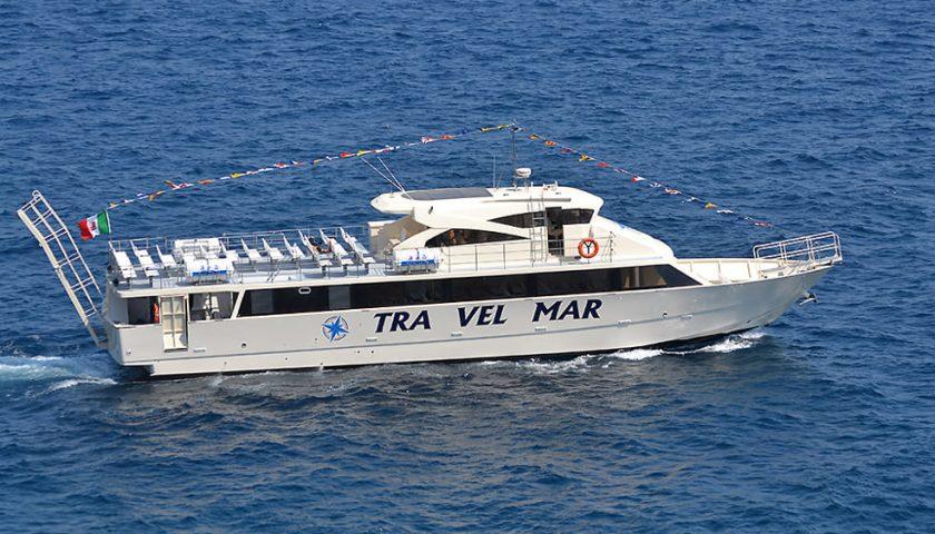 Costiera Amalfitana flagellata dal maltempo, al via i collegamenti via mare da Salerno