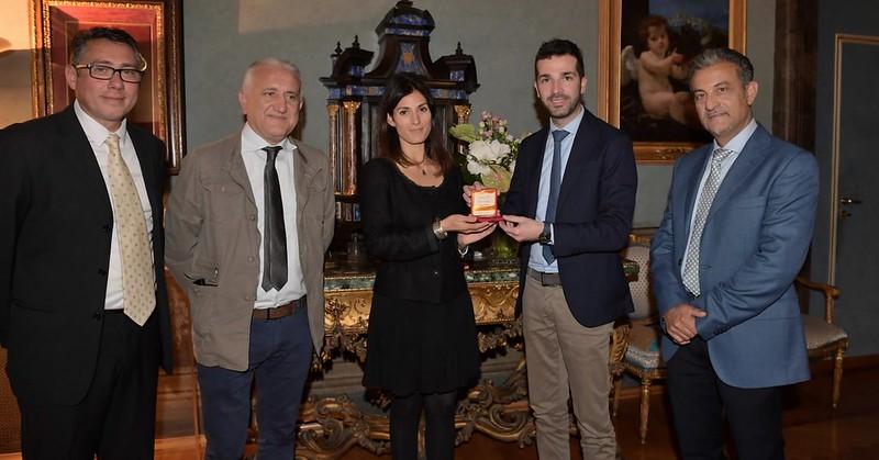 L'associazione Elaia di Marina di Camerota premiata dalla sindaca di Roma Virginia Raggi
