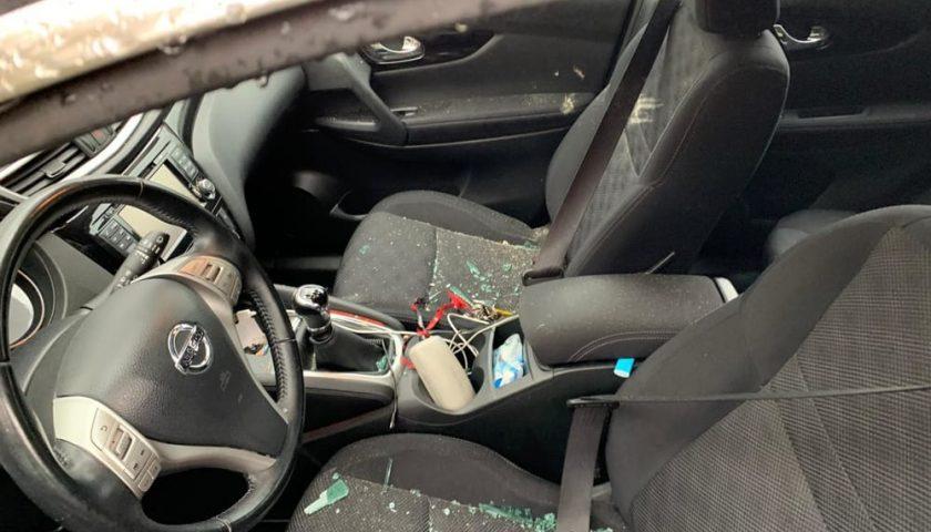 Roccapiemonte, danneggiata auto dell'assessore: telecamere inquadrano l'autore