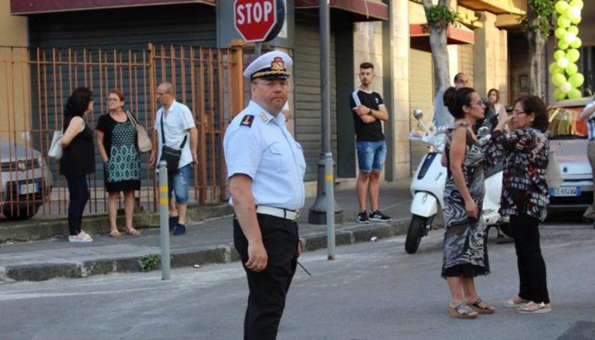 Vigili urbani a Nocera Inferiore, lascia il comandante Giuseppe Contaldi