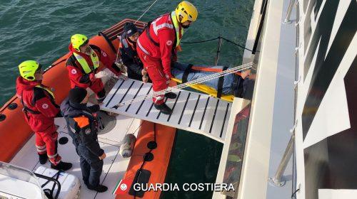 Nave in difficoltà nel porto di Salerno ma è solo un'esercitazione Guardia Costiera – Croce Rossa Italiana – Cisom