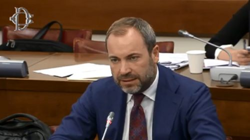 Il deputato salernitano Federico Conte nella Giunta per le autorizzazioni a procedere