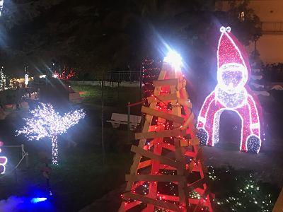 Inaugurato il Villaggio di Babbo Natale a Fisciano