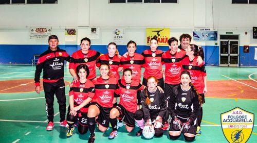 Calcio a 5 femminile: Folgore Acquavella in cerca di riscatto in terra irpina