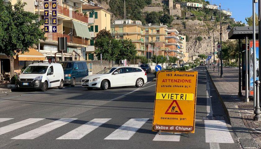 Anas, restano i disagi in Costiera Amalfitana per le condizioni meteo avverse
