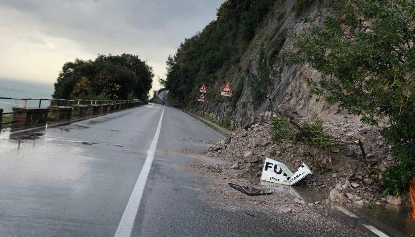 Maltempo, frane e smottamenti in Costiera Amalfitana: Coldiretti annuncia danni per 6 milioni