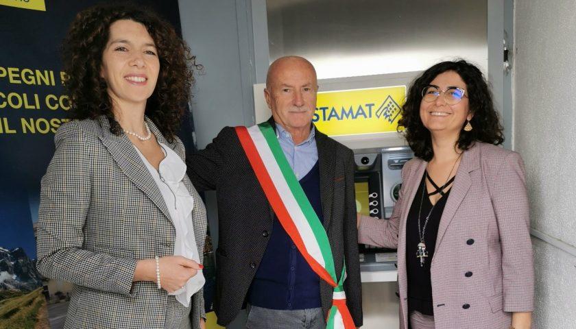 Conca dei Marini: installato il primo sportello automatico ATM Postamat dell'Ufficio Postale di piazza Olmo