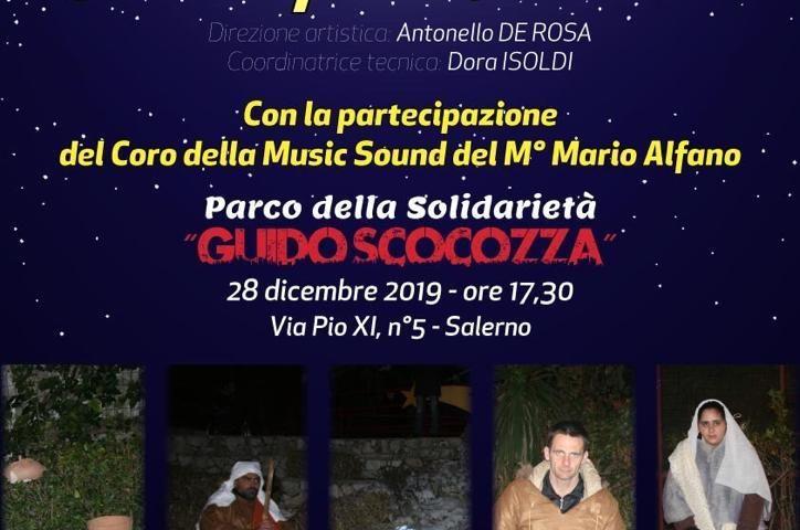 """Presepe Vivente al Parco della Solidarietà """"Guido Scocozza"""""""