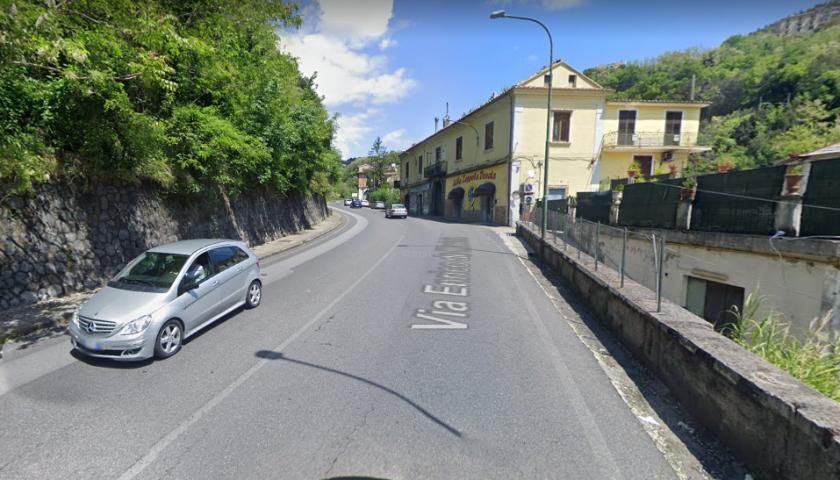 SS18 tra Vietri sul Mare e Cava de' Tirreni: strada riaperta con restringimento della carreggiata, circolazione regolare