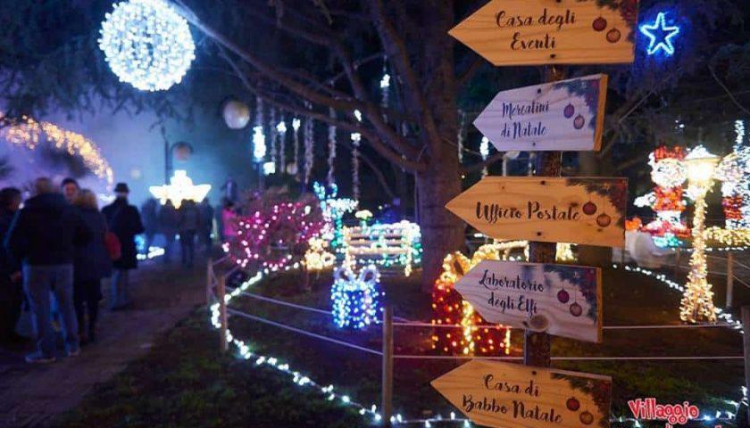 """Presenze record al """"Villaggio di Babbo Natale"""" di Fisciano"""
