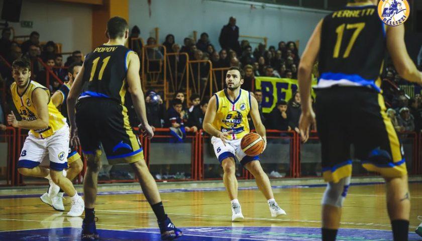 Basket: Il derby è gialloblu, Bellizzi batte Agropoli