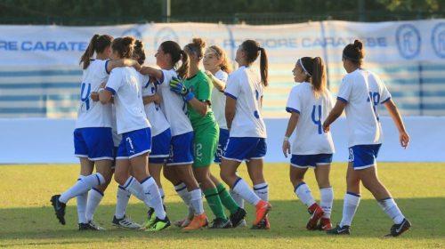 L'Italia U17 di calcio femminile a Baronissi, amichevole con la Norvegia