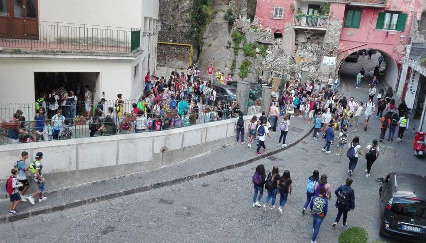 Amalfi, ipotesi chiusura domani delle scuole elementari e medie a causa dell'impianto di riscaldamento