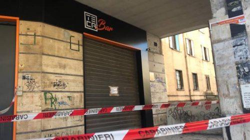 Nocera Inferiore, bomba nella notte all'interno di un bar di via Matteotti: paura tra i residenti