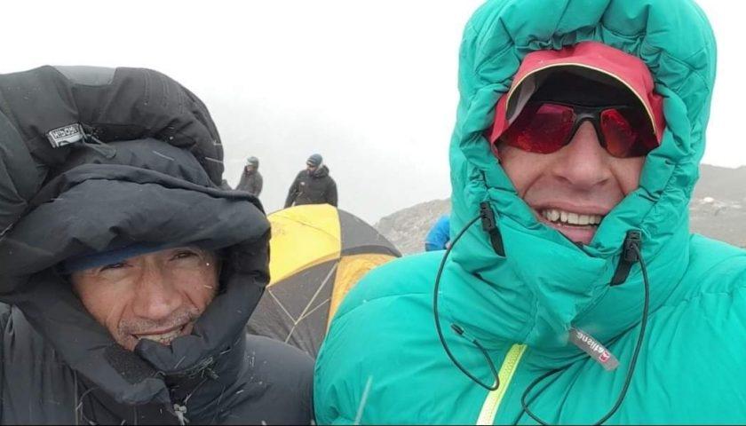 Due cavesi in vetta all'America tentano la scalata del monte Aconcagua, la più alta del continente americano