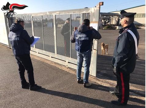 Carabinieri del NOE sequestrano impianto di compostaggio, denunciate 3 persone