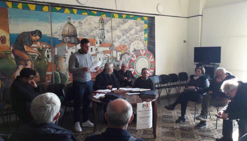 Gerardo Ferrari nuovo segretario cittadino del Pd a Vietri sul Mare