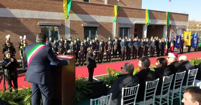 Ad Agropoli la nuova caserma della Guardia di Finanza intitolata a Di Sessa, stamattina l'inaugurazione