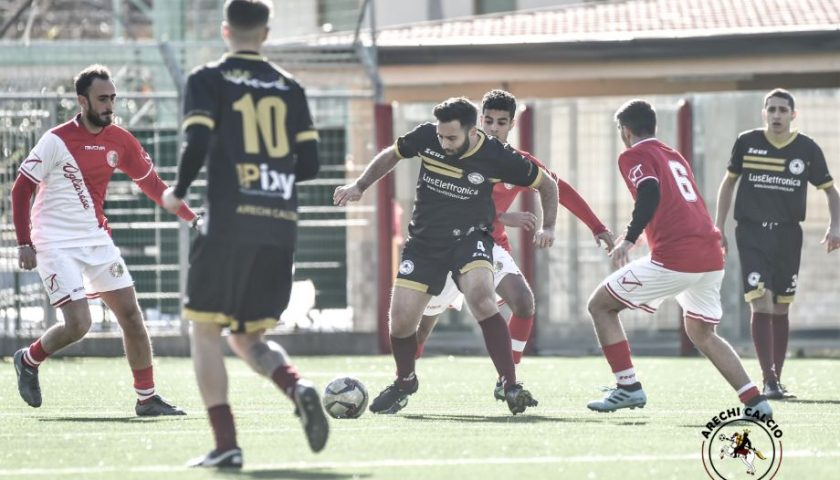 Arechi Calcio, tris all'Ogliarese