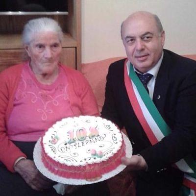 E' di Tramonti la nonnina più longeva della Campania: Anastasia compie oggi 106 anni