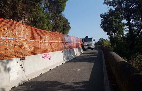 Frana in Costiera, ordinanza del sindaco di Cetara: riapre la statale Amalfitana ma solo per i mezzi pubblici