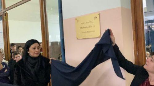 """Salerno: Aula Magna del """"Genovesi"""" intitolata alla memoria di Melissa e Vittorio"""