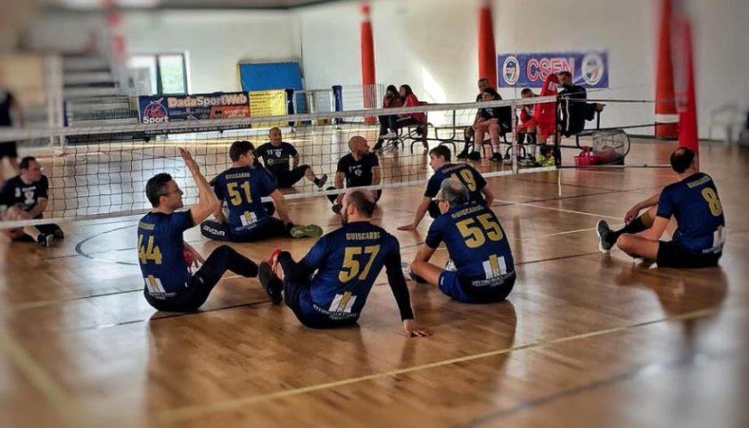"""La Saledil Guiscards ospita Vesuvio Oplonti. Domani alla """"Senatore"""" c'è il Sitting Volley Day"""